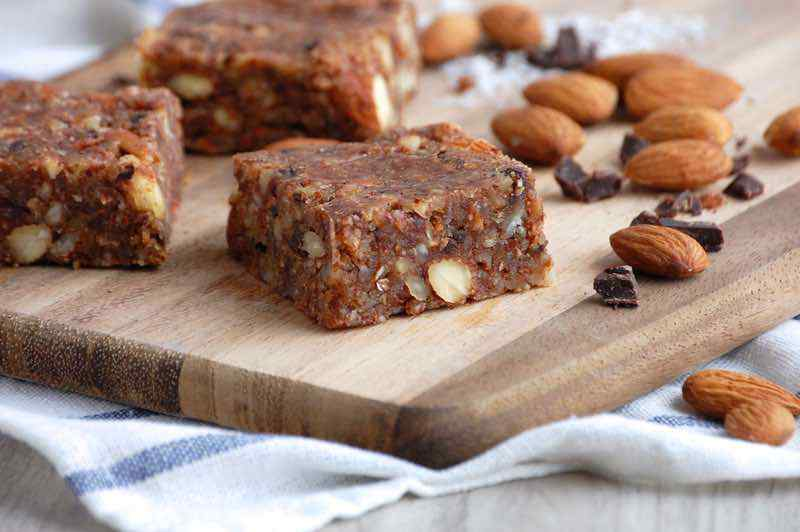 Paleo Almond Joy Energy Bars
