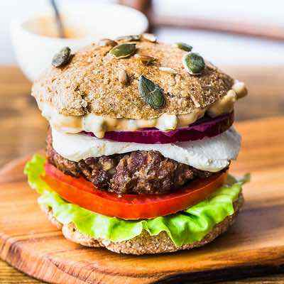 Paleo California Burger Recipe