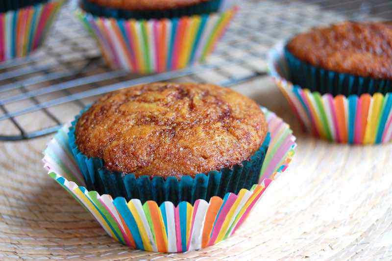 Muffins De Pan De Canela Paleo