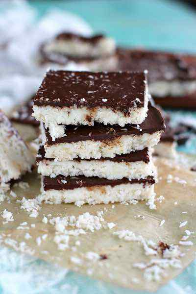 Paleo Coconut Crack Bars