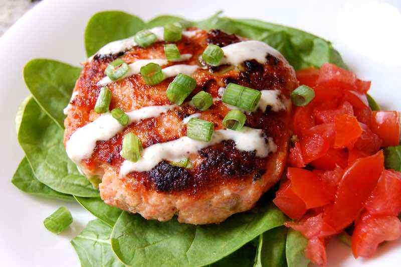 Paleo Salmon Burger Recipe