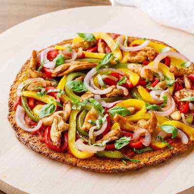 Paleo Sweet Potato Pizza Crust