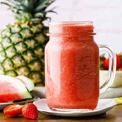 Refreshing Paleo Watermelon Smoothie