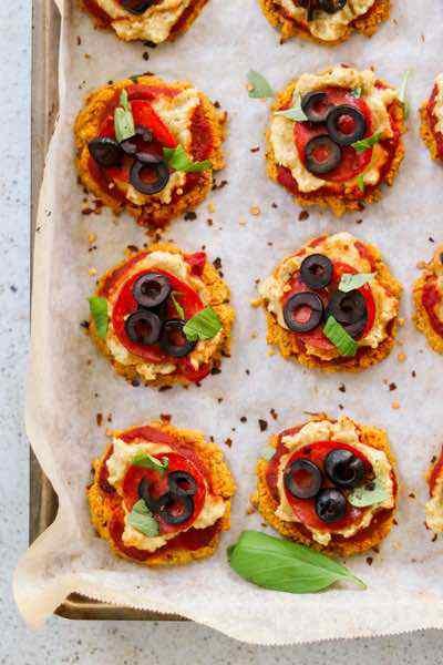 Sweet Potato Paleo Pizza Bites