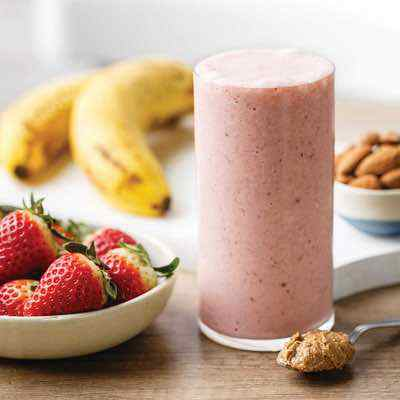 The Best Almond Butter Paleo Smoothie