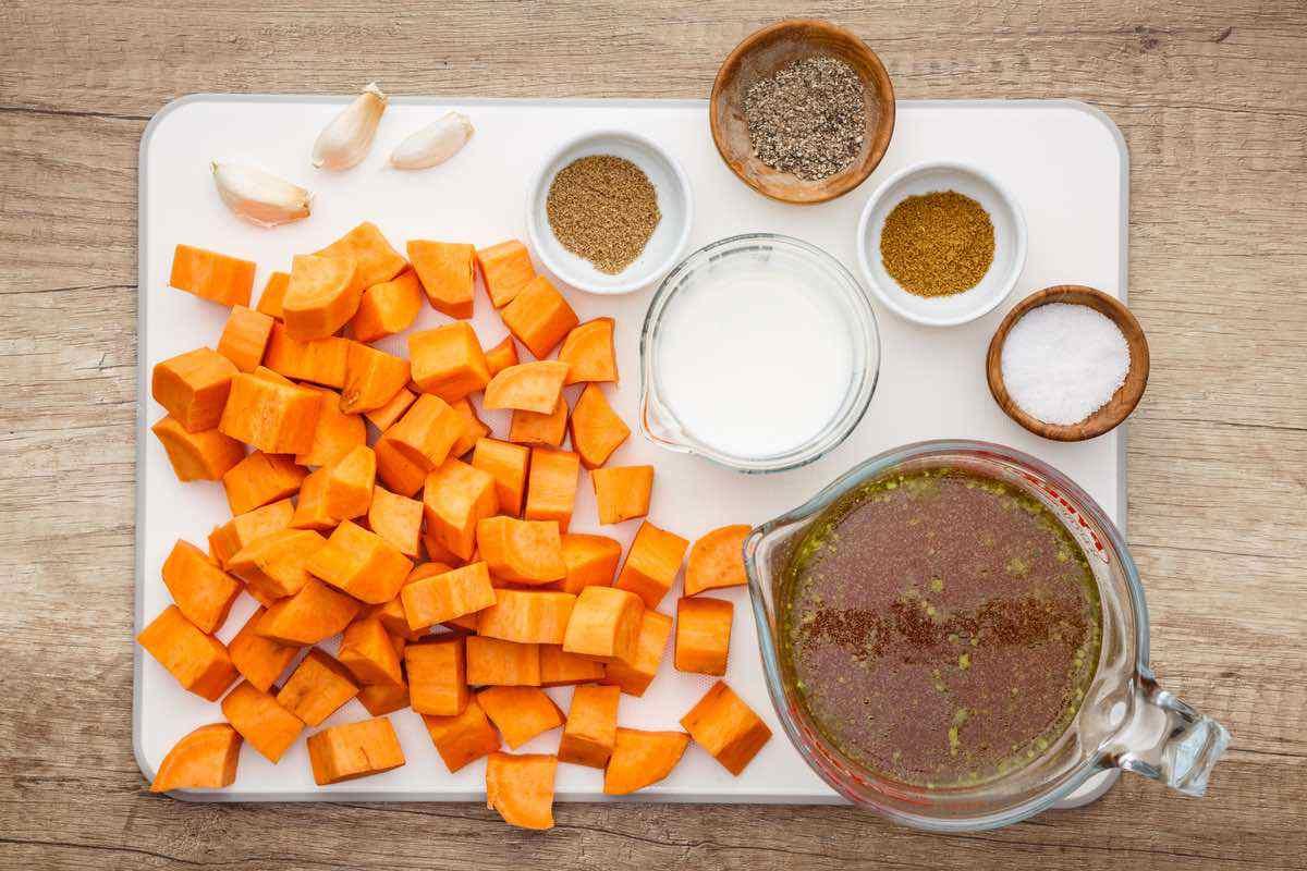 Crockpot Paleo Sweet Potato Soup