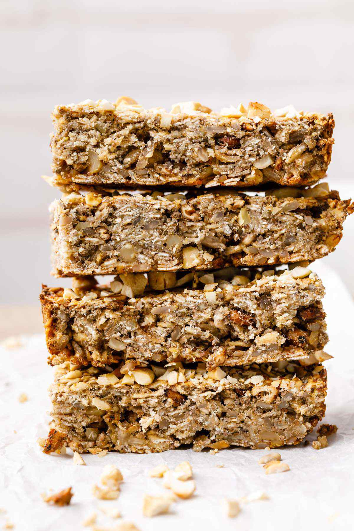 Almond Butter Paleo Breakfast Bars