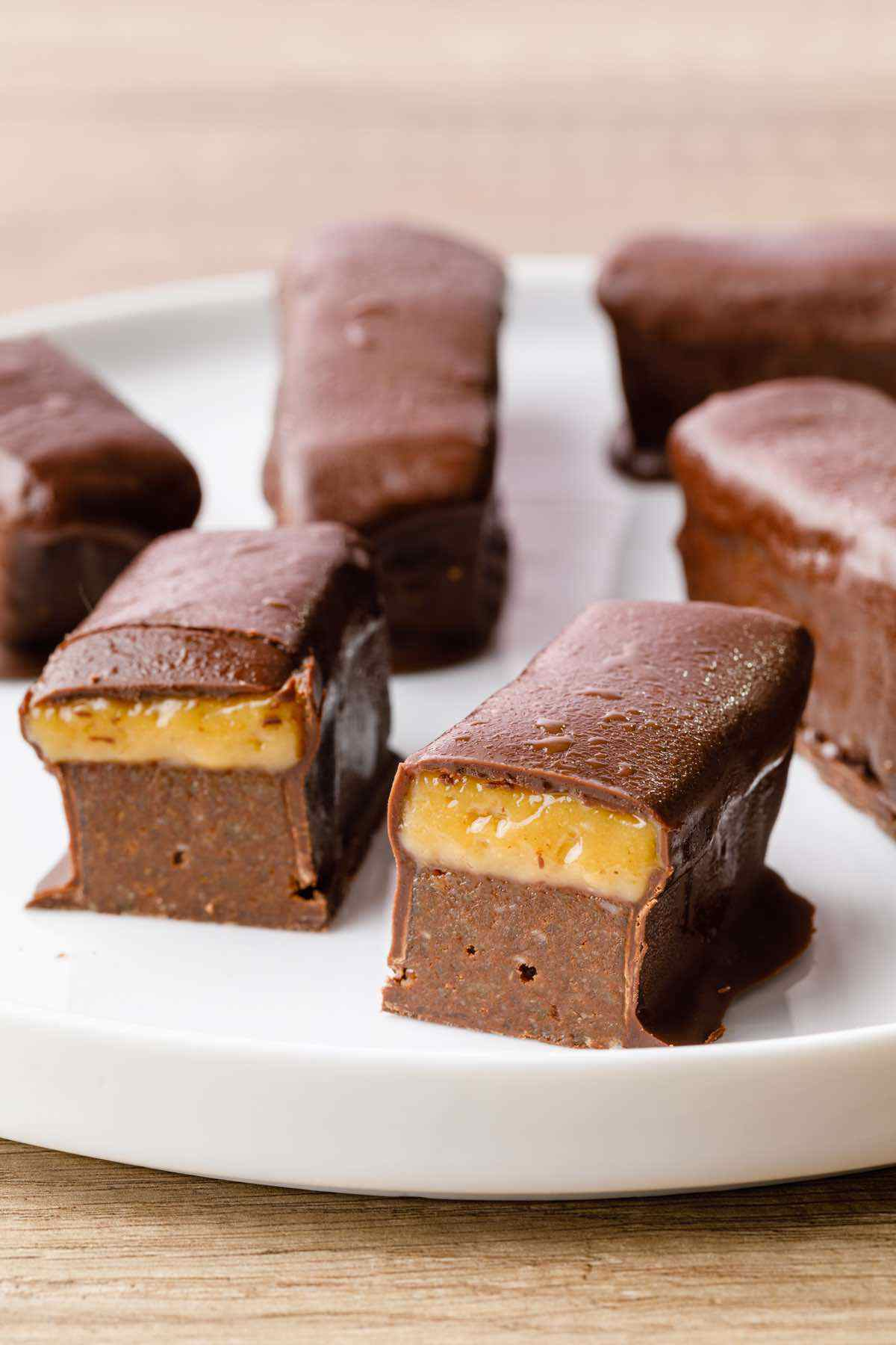 Paleo Milky Way Candy Bars