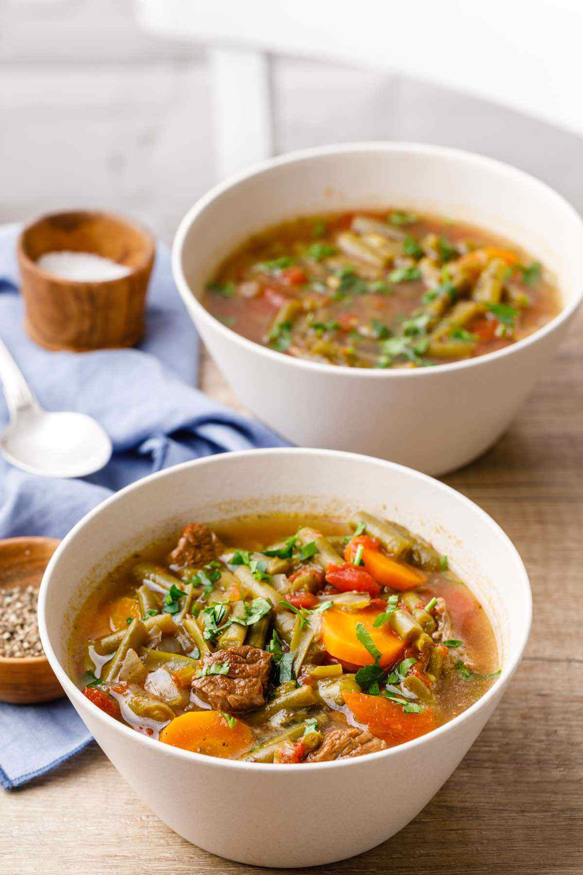 Paleo Crockpot Vegetable Beef Soup