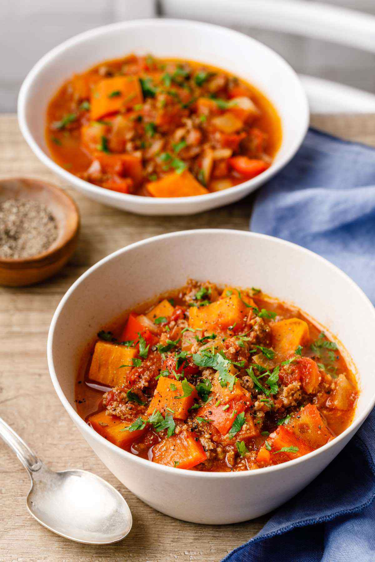 Slow Cooker Sweet Potato Paleo Chili