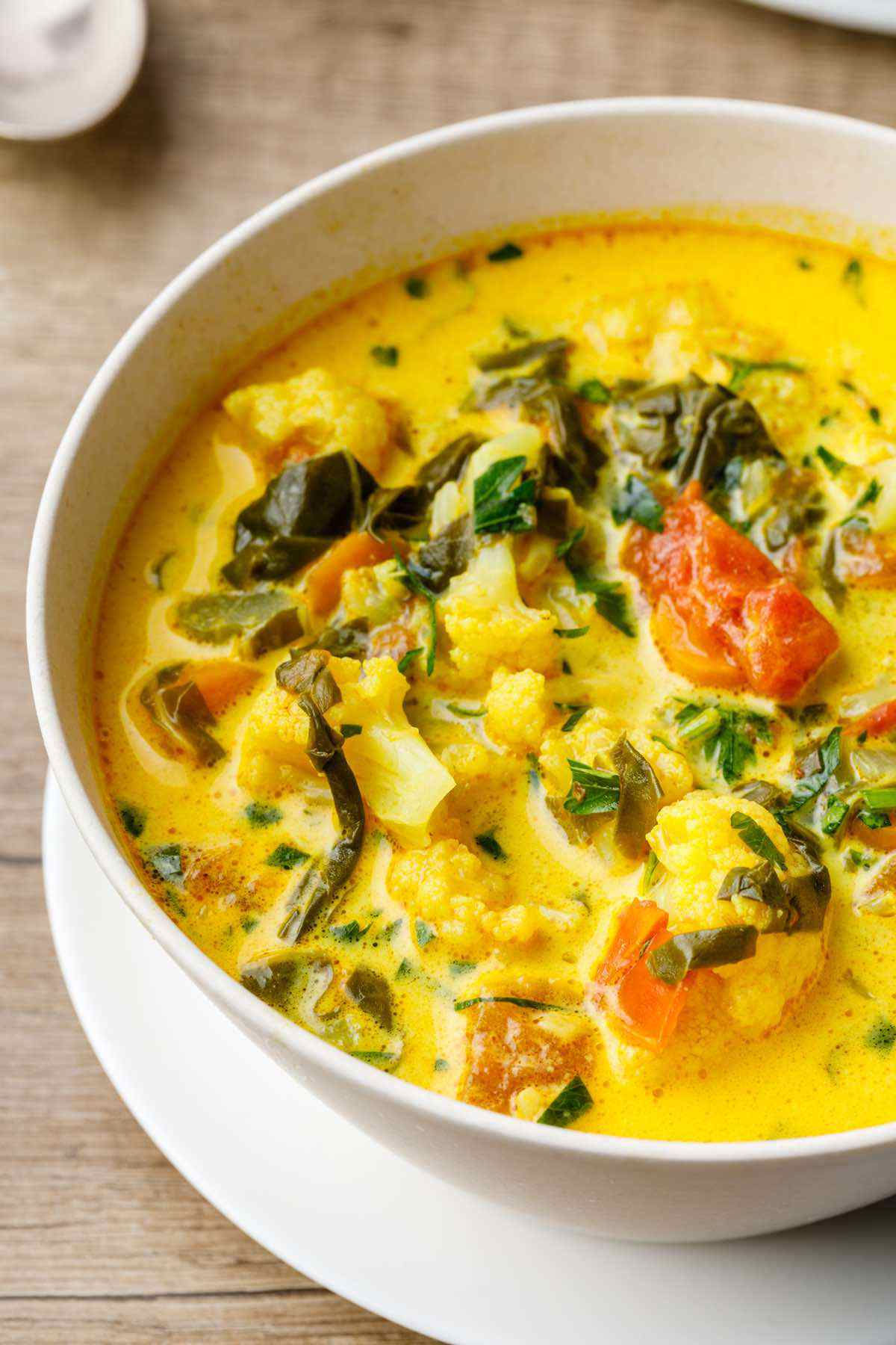 Cauliflower Turmeric Paleo Stew