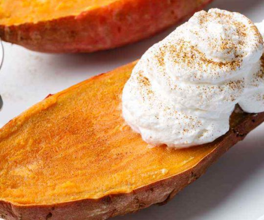How to Microwave Sweet Potatoes