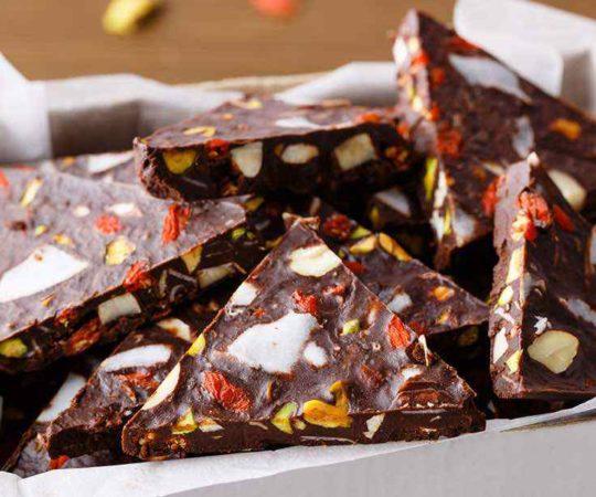 Paleo Chocolate Bark