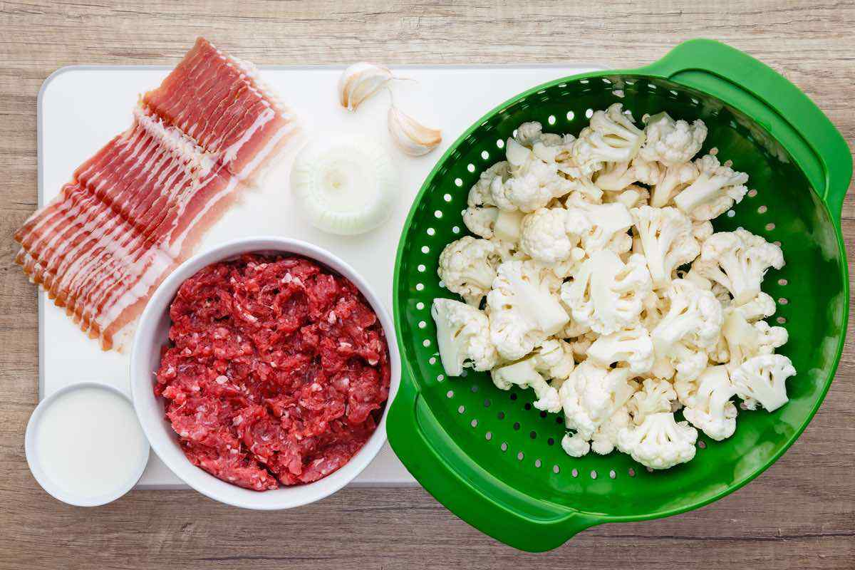 Bacon Ground Beef Paleo Casserole