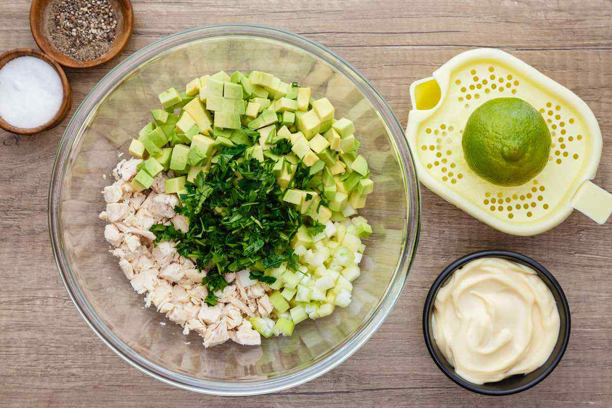 Paleo Avocado Chicken Salad