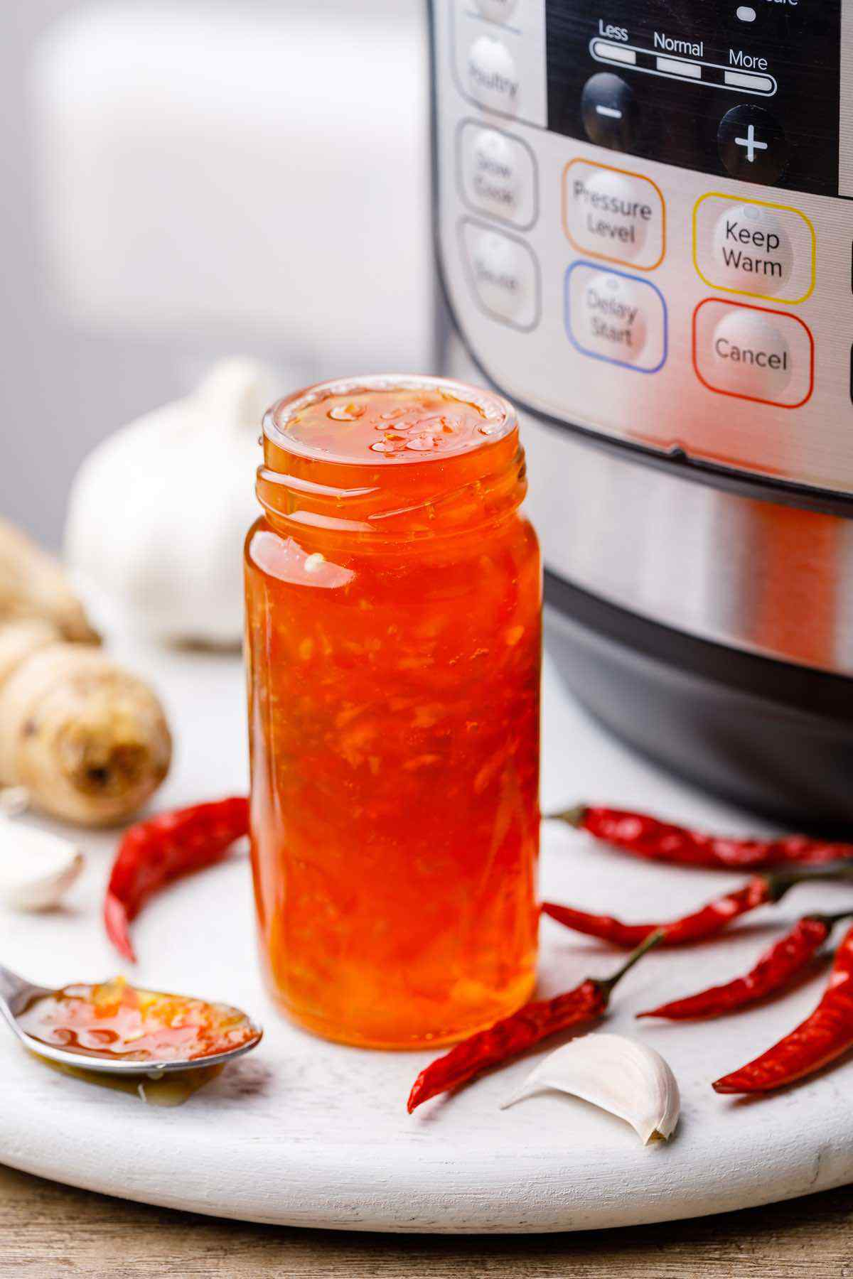 Instant Pot Sweet Chili Sauce