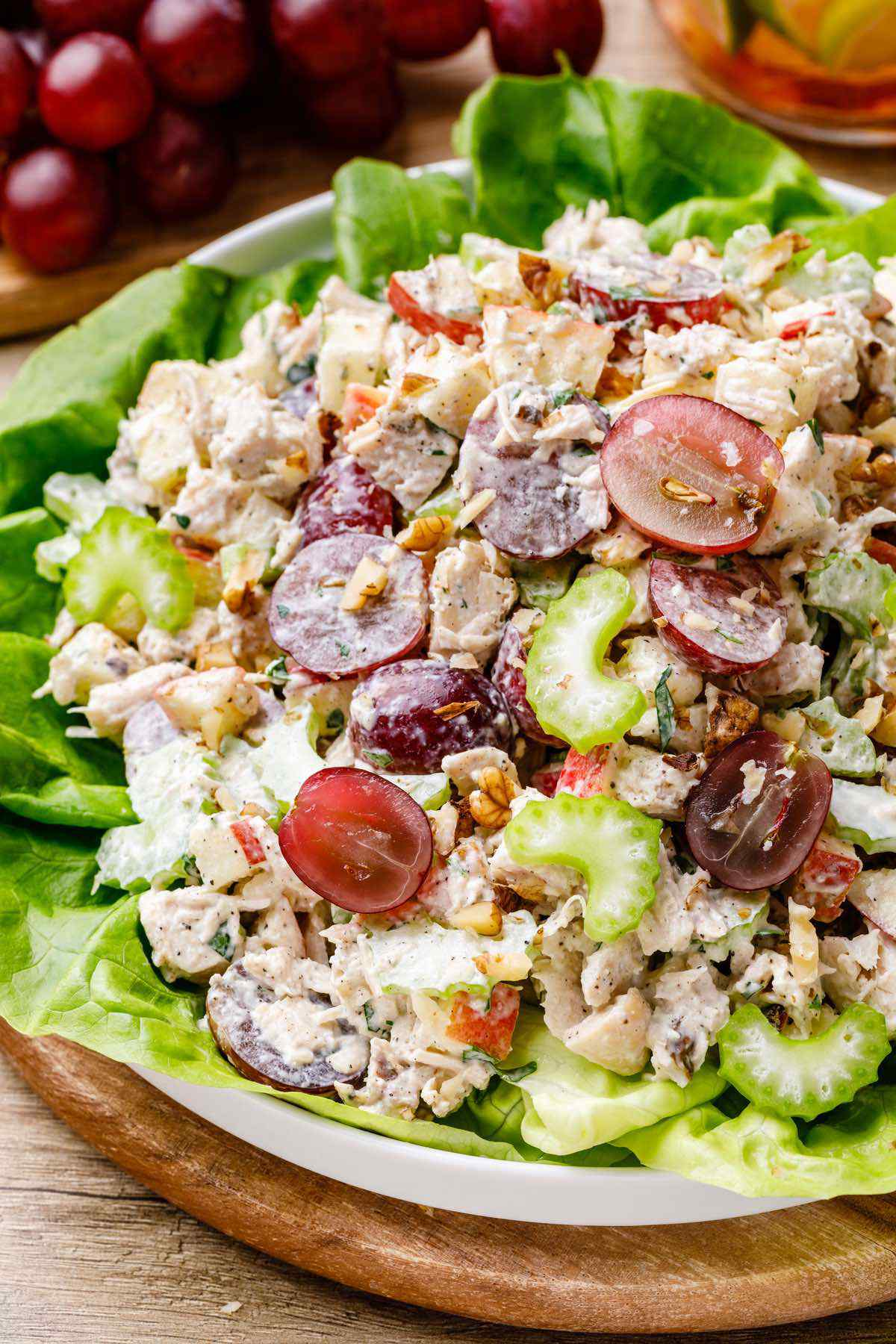 Waldorf Paleo Chicken Salad