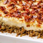 Bacon Ground Beef Paleo Casserole
