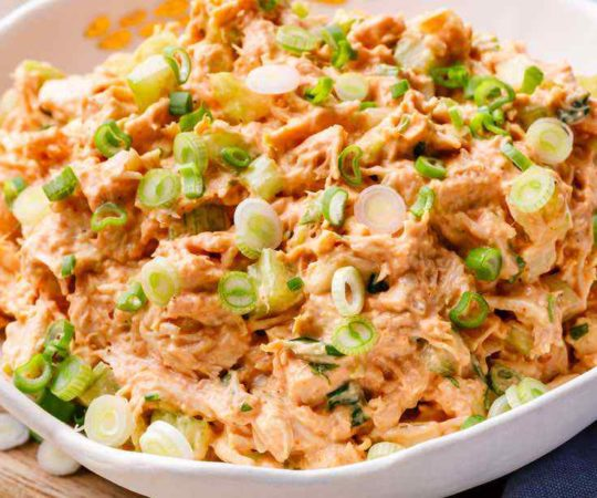 Paleo Buffalo Chicken Salad