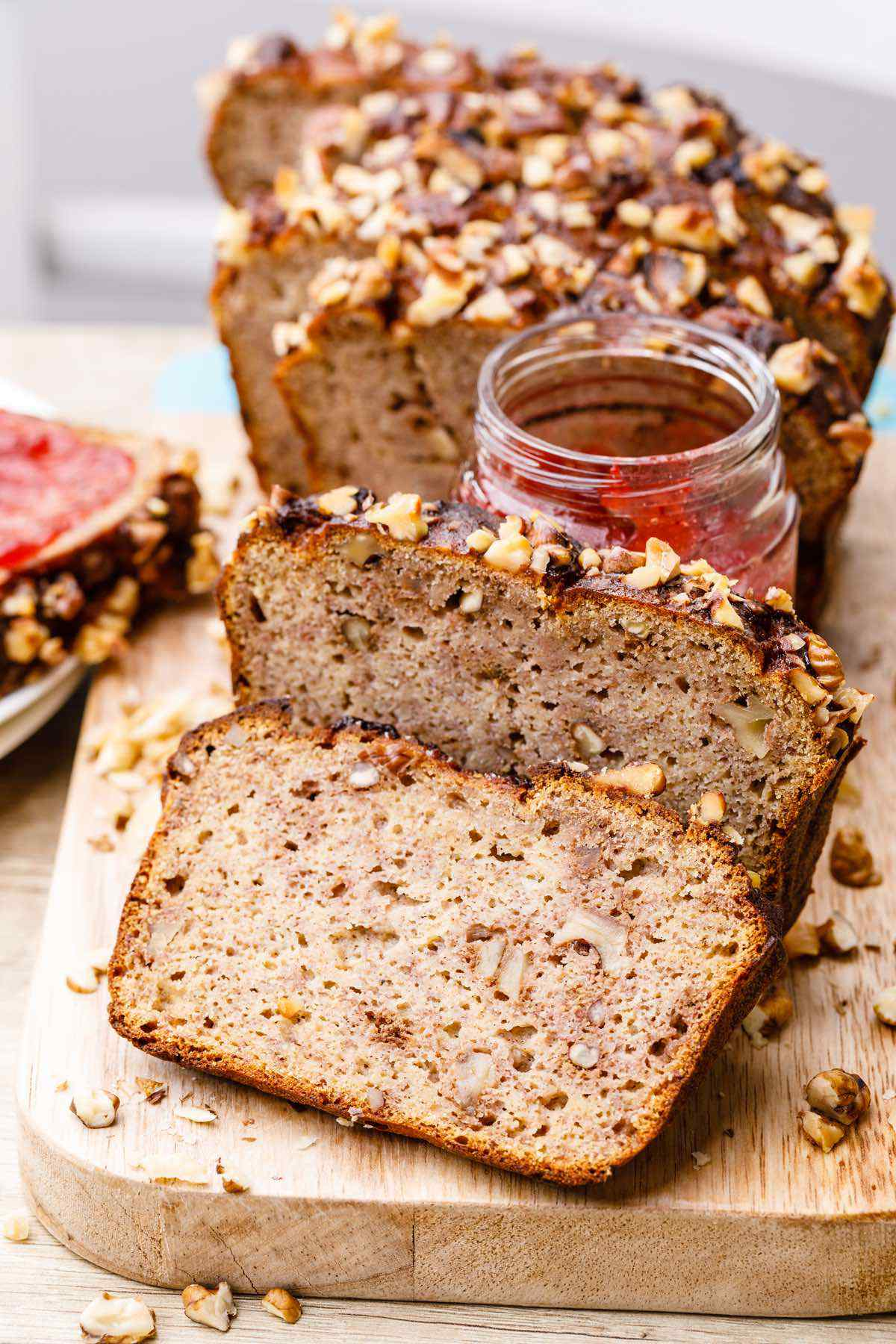 Honey Nut Paleo Banana Bread
