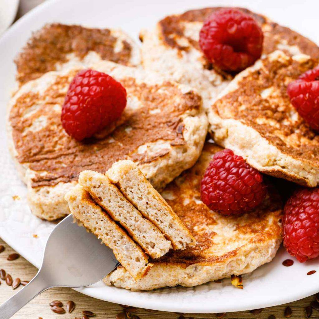 Low Carb Banana Cinnamon Pancake