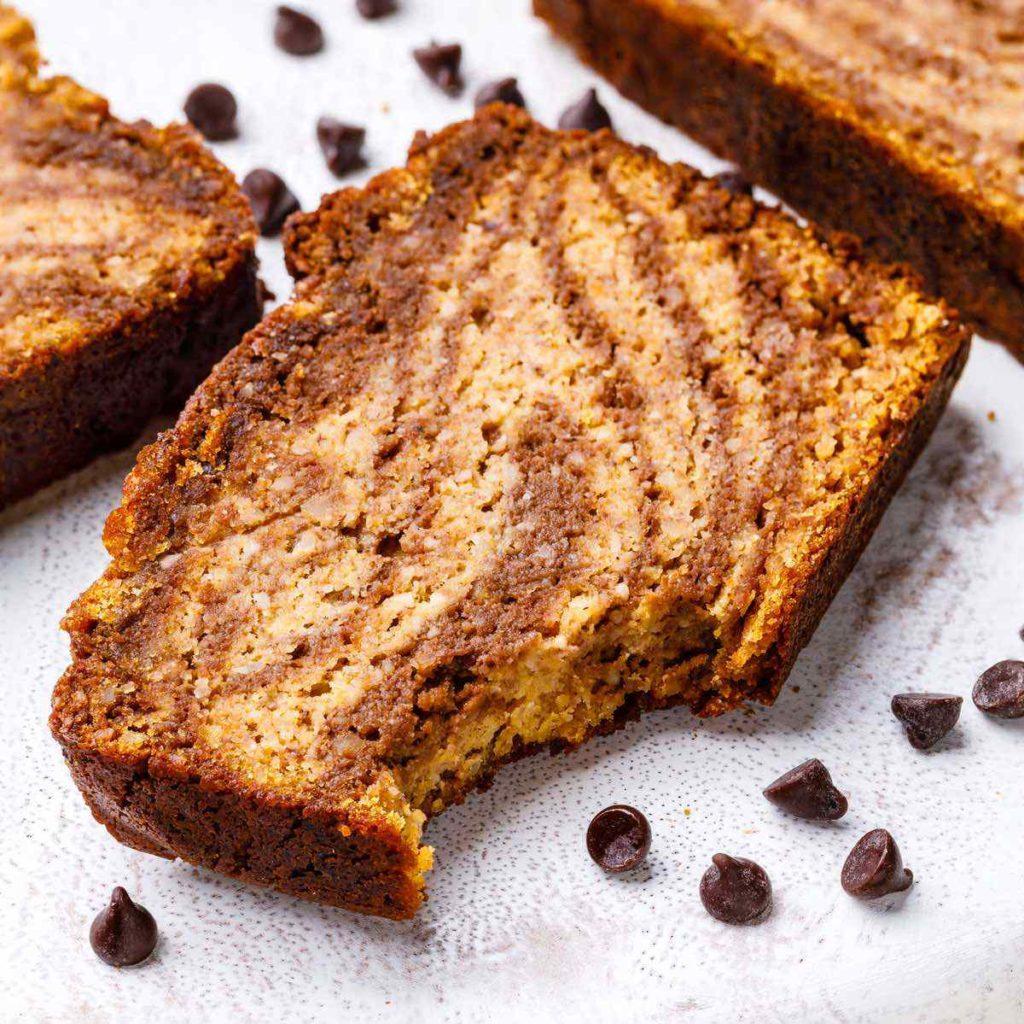 Pumpkin Paleo Banana Bread