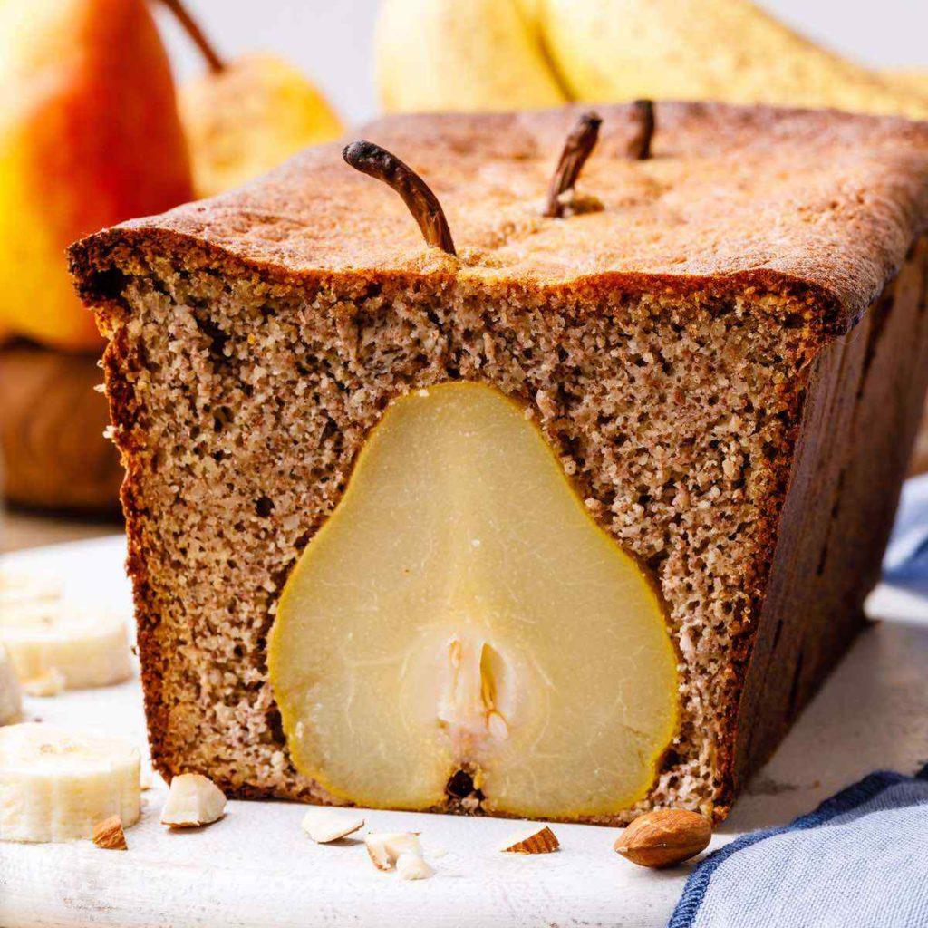 Pear Banana Bread
