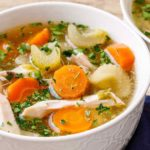 Crockpot Paleo Chicken Soup