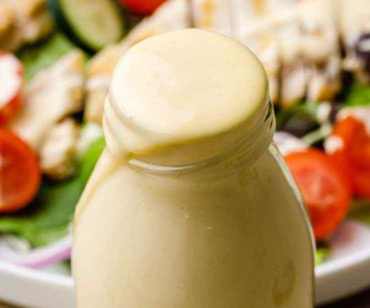 Honey Mustard Paleo Salad Dressing