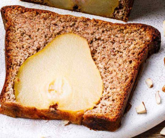 Pear Banana Bread