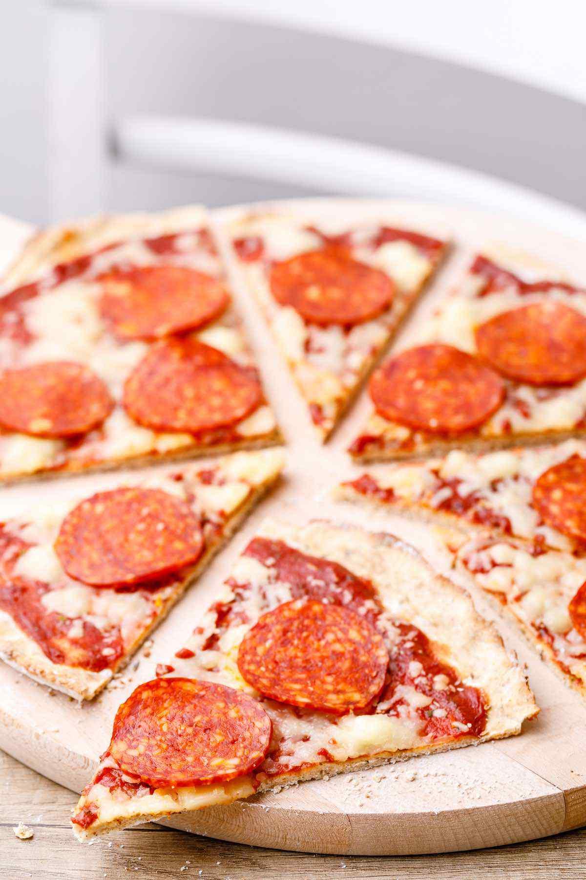 New York Style Paleo Pizza