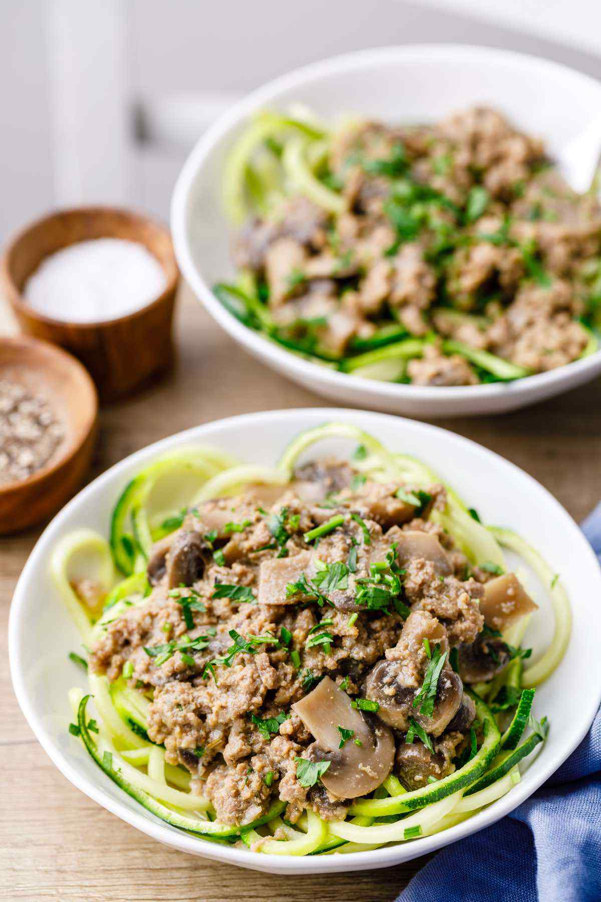 Instant Pot Paleo Ground Beef Stroganoff