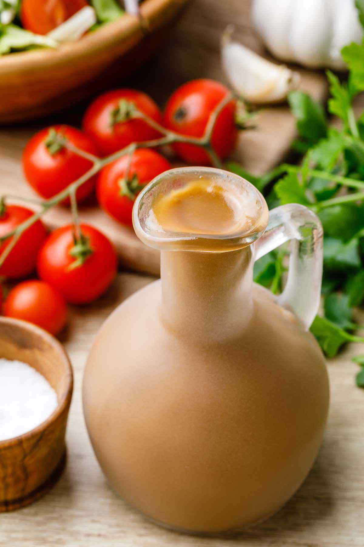 Paleo Balsamic Vinaigrette Salad Dressing
