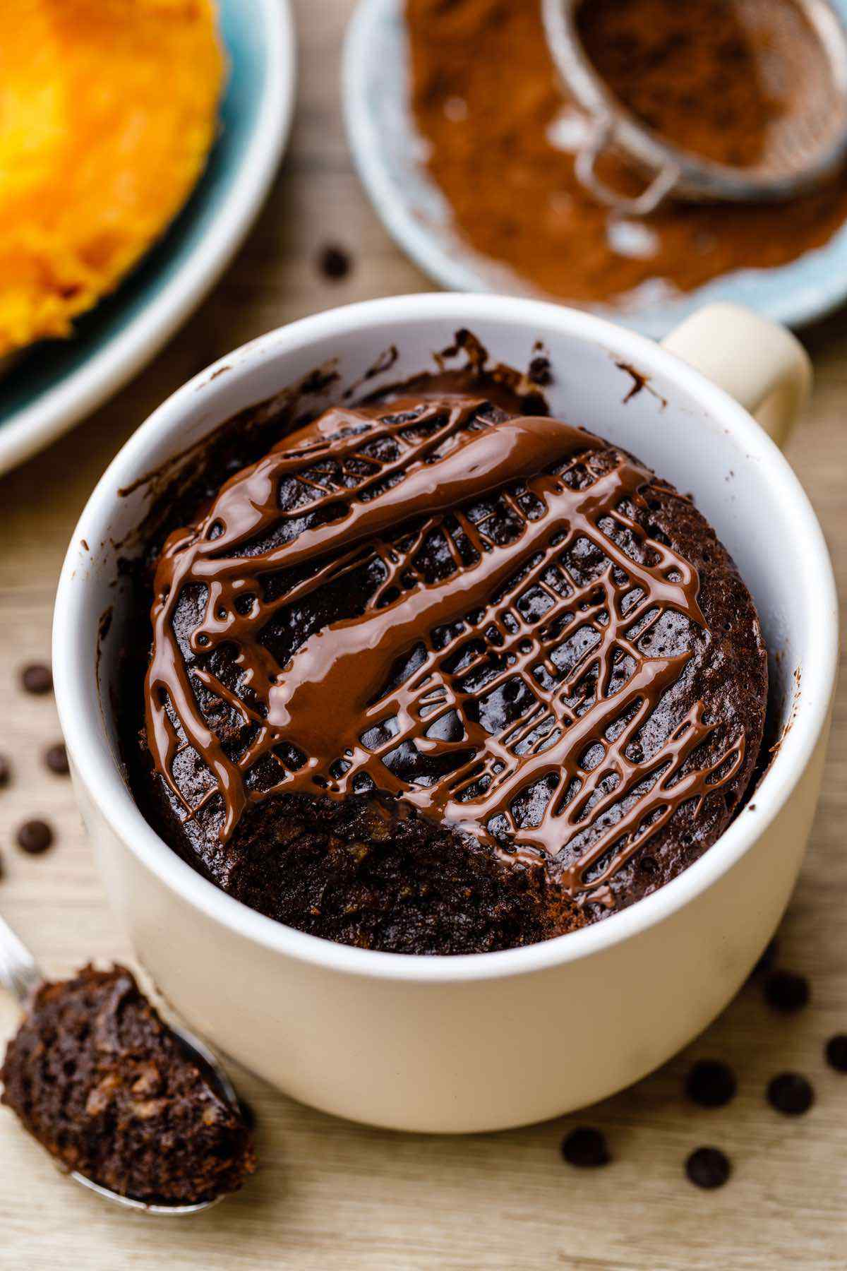 Paleo Sweet Potato Brownies in a Mug