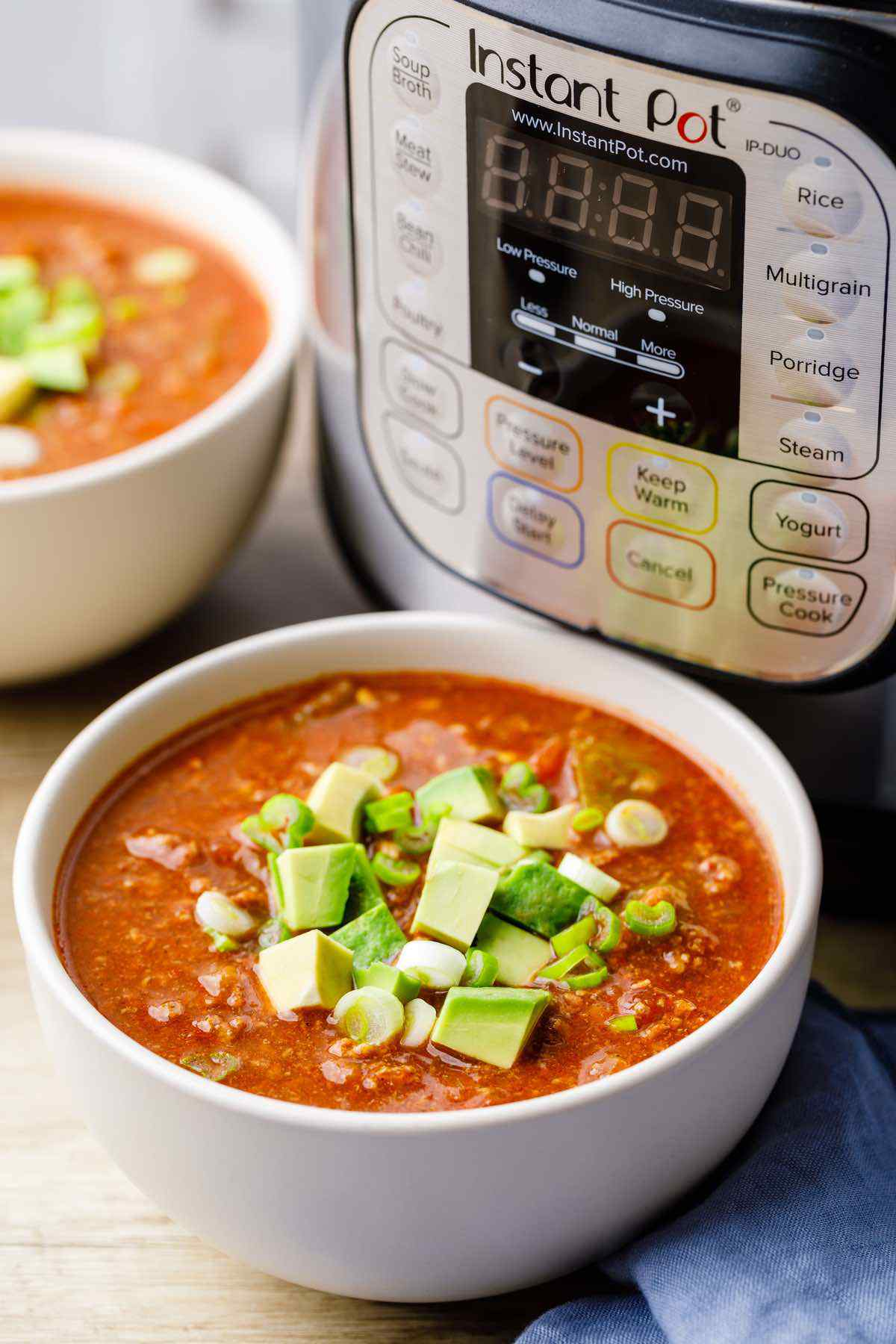 Instant Pot Ground Beef Paleo Chili