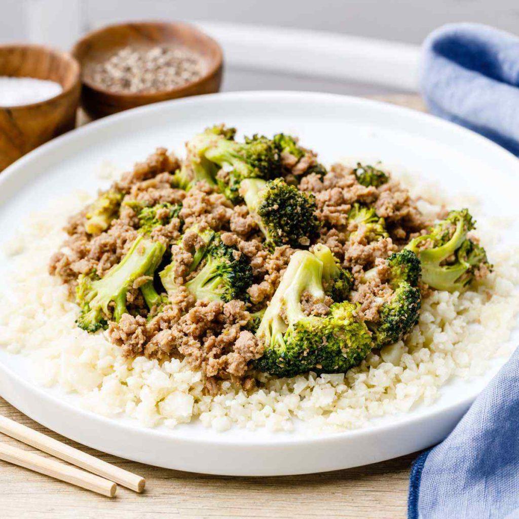 Paleo Ground Beef Stir Fry