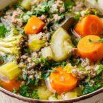 Paleo Crockpot Ground Beef Vegetable Soup