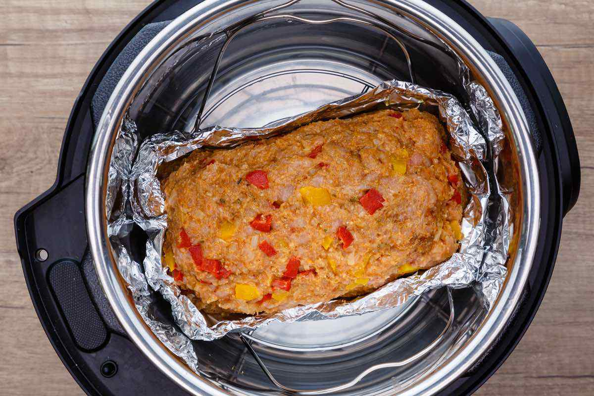 Instant Pot Paleo Turkey Meatloaf