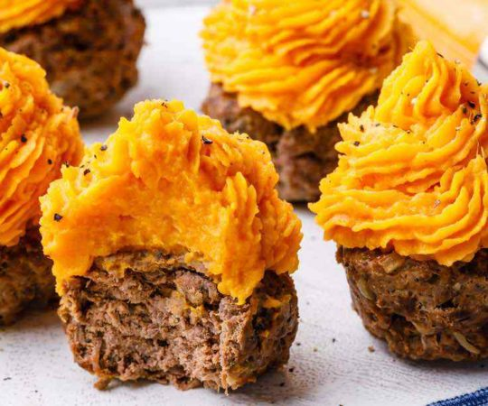 Paleo Ground Beef Meatloaf Muffins