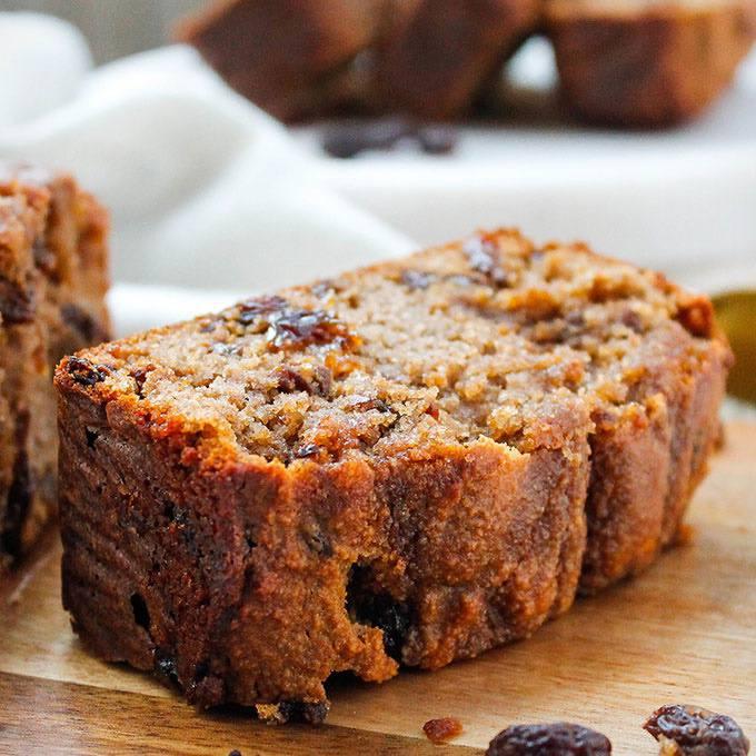 Home.fit Cinnamon-Raisin-Bread 61 Easy Paleo Bread Recipes