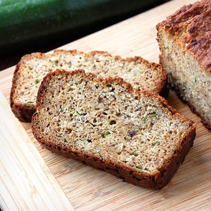 Home.fit Easy-Paleo-Zucchini-Bread 61 Easy Paleo Bread Recipes