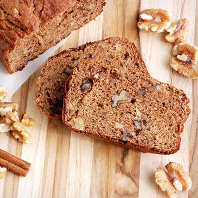 Home.fit Gluten-Free-Banana-Nut-Bread 61 Easy Paleo Bread Recipes