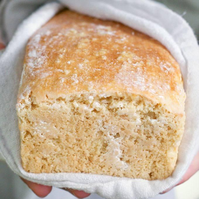 Home.fit Grain-Free-Cashew-Sourdough-Bread 61 Easy Paleo Bread Recipes