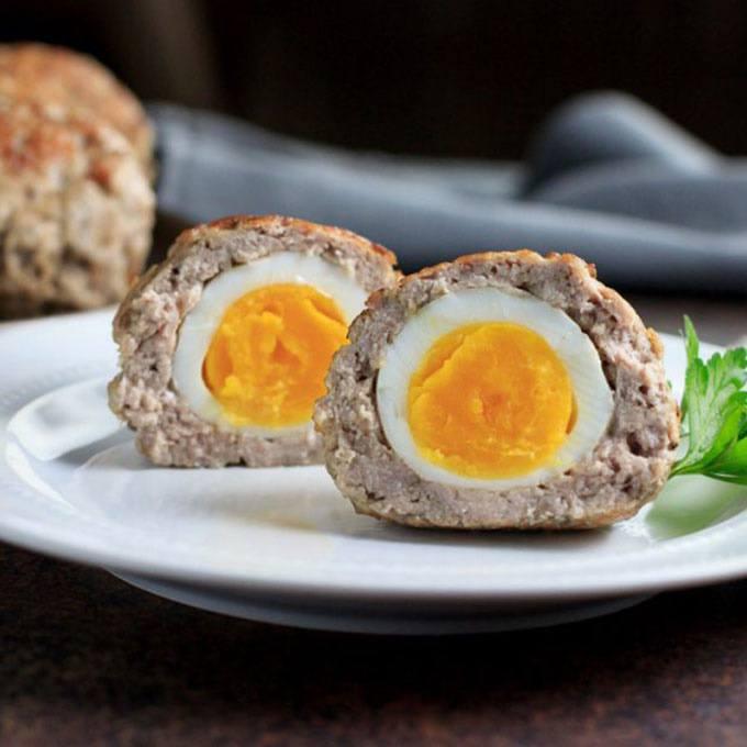 Instant Pot Keto Scotch Eggs