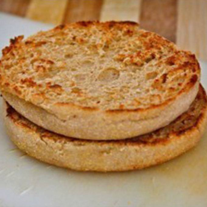 Microwave English Muffins