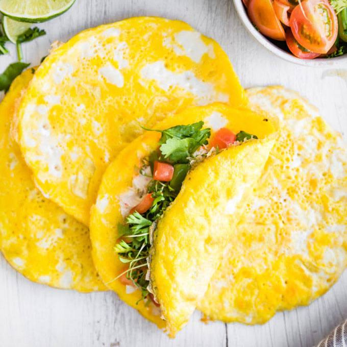 Paleo Breakfast Egg Wraps
