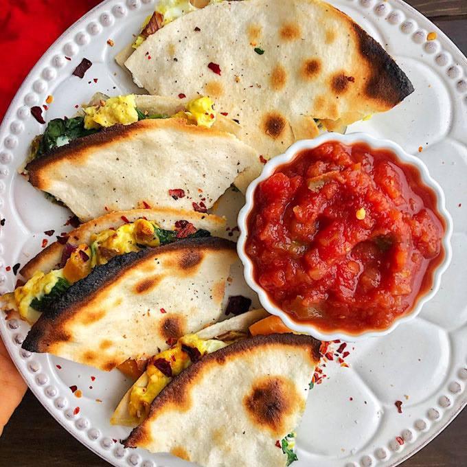 Paleo Breakfast Quesadilla