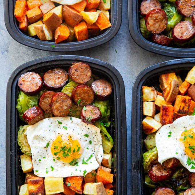 Paleo Meal Prep Breakfast Bowls {whole30}