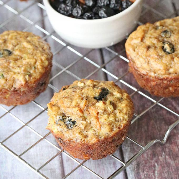 Paleo Morning Glory Muffins