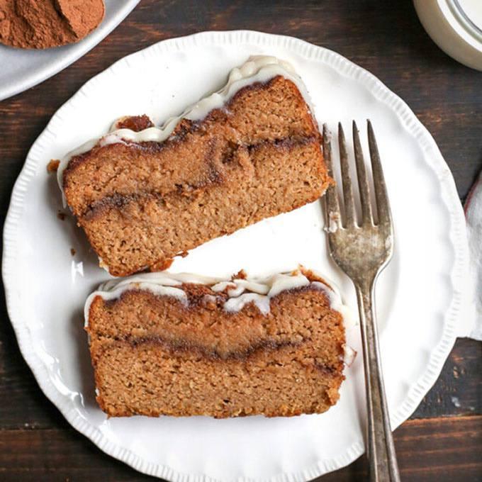 Home.fit Paleo-Pumpkin-Cinnamon-Roll-Bread 61 Easy Paleo Bread Recipes